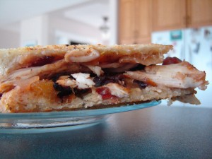 Brie-Mango Chutney & Chicken Panini | bsinthekitchen.com #panini #sandwich #bsinthekitchen
