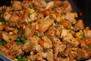 Chicken Fried Rice | bsinthekitchen.com
