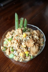 Chicken Fried Rice | bsinthekitchen.com