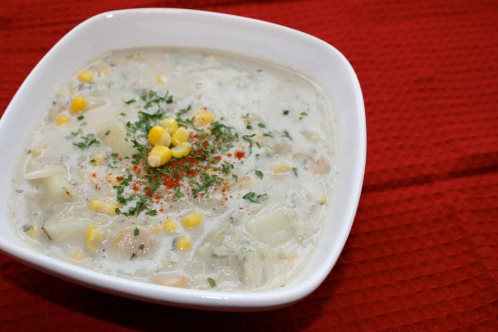 Lactose Free Potato Soup | bsinthekitchen.com