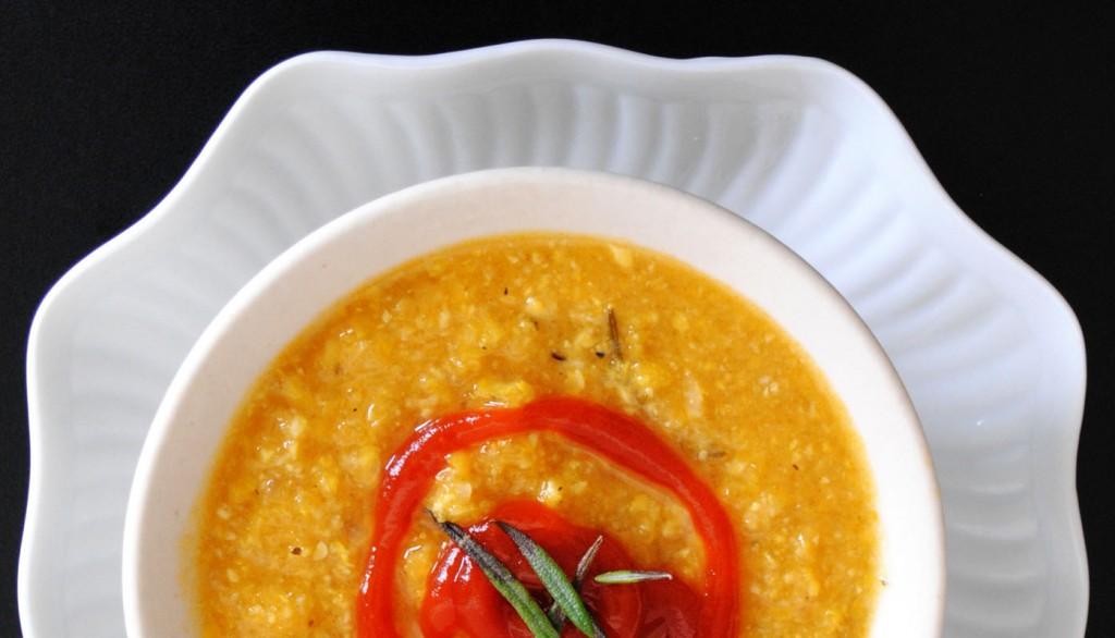 Summer Puerco Corn Soup | bsinthekitchen.com