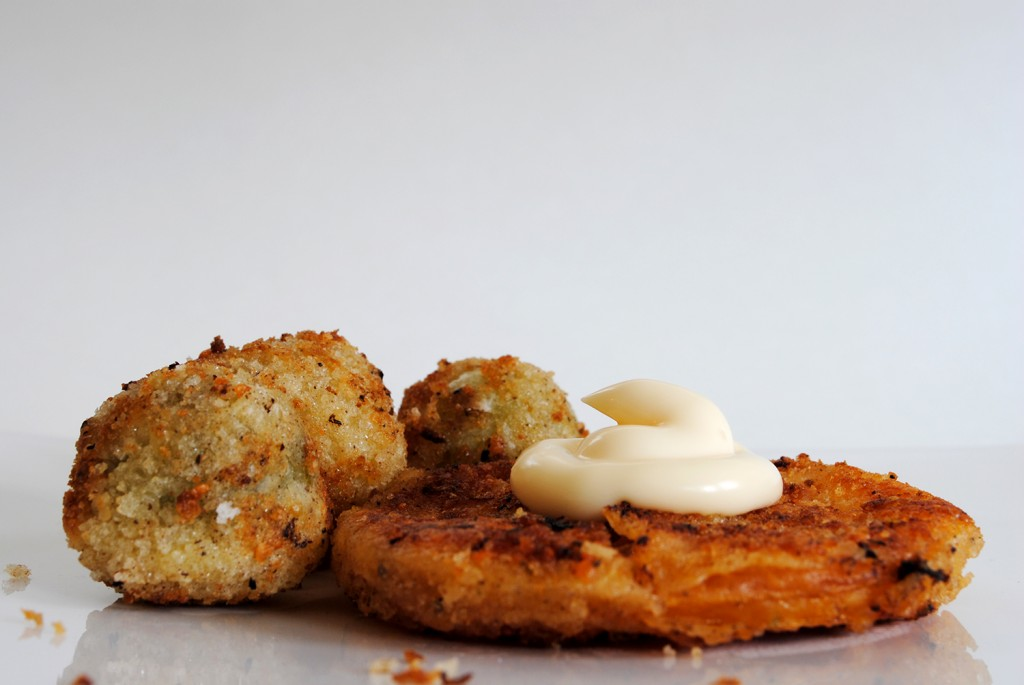 how to make fried green tomatoes crispy