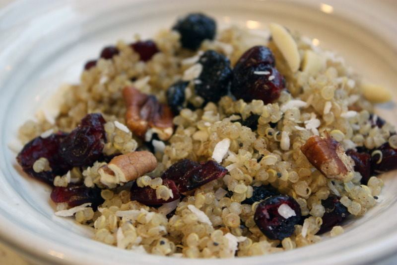 Breakfast Quinoa Salad Recipe — Dishmaps