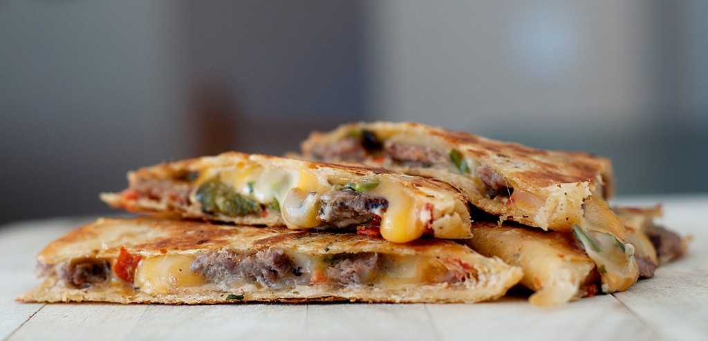 Jalapeno Popper Steak Quesadilla