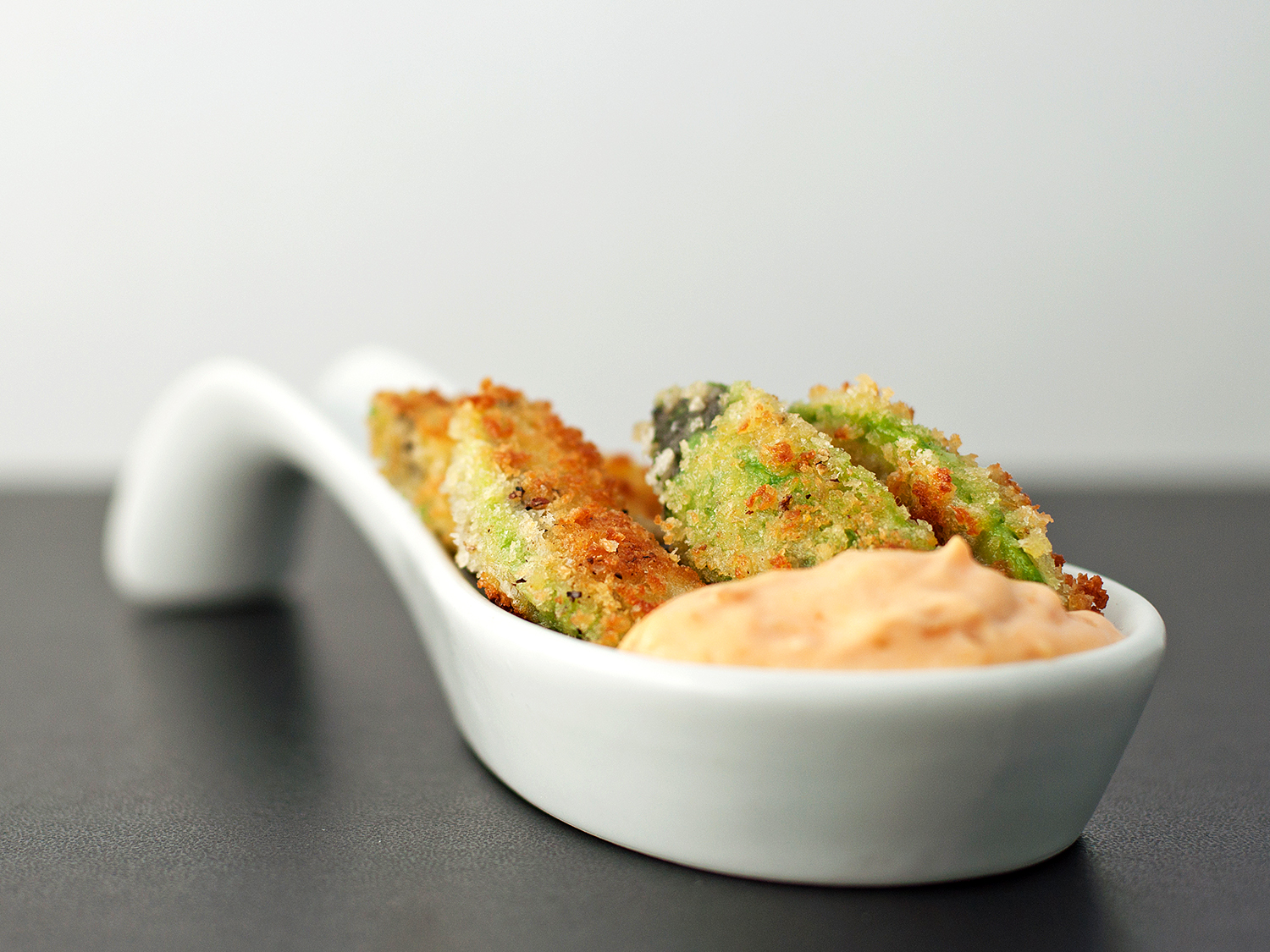 Avocado Fries | bsinthekitchen.com #avocado #fries #snack