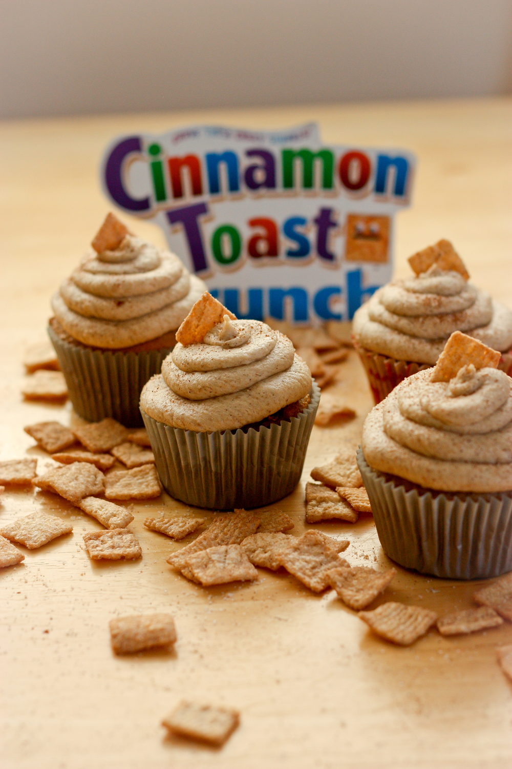 Cinnamon Toast Crunch Cupcakes | BS' in the Kitchen