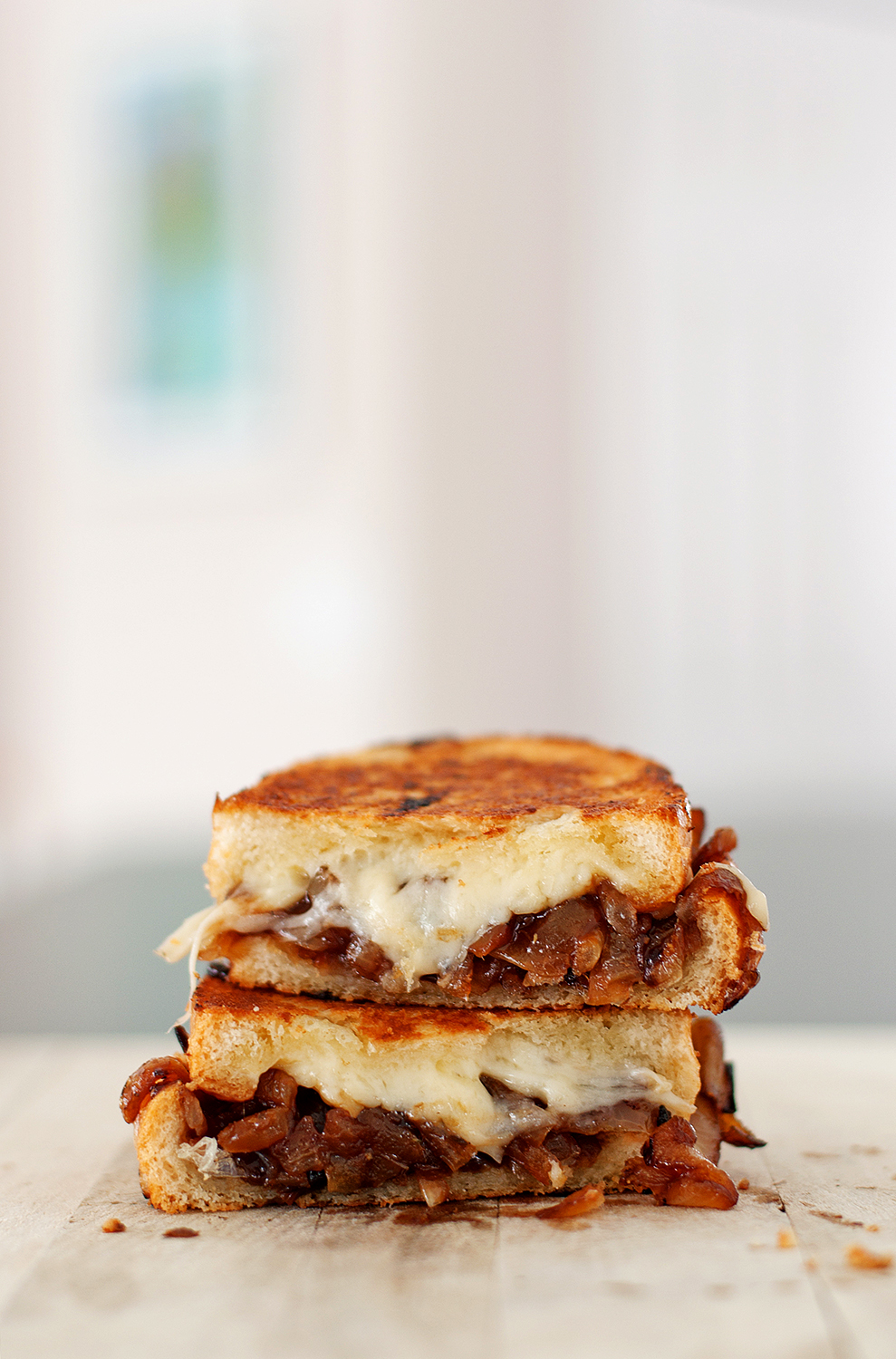 Tasty Treats, French Onion Soup Grilled Cheese 1 Yellow Onion ...