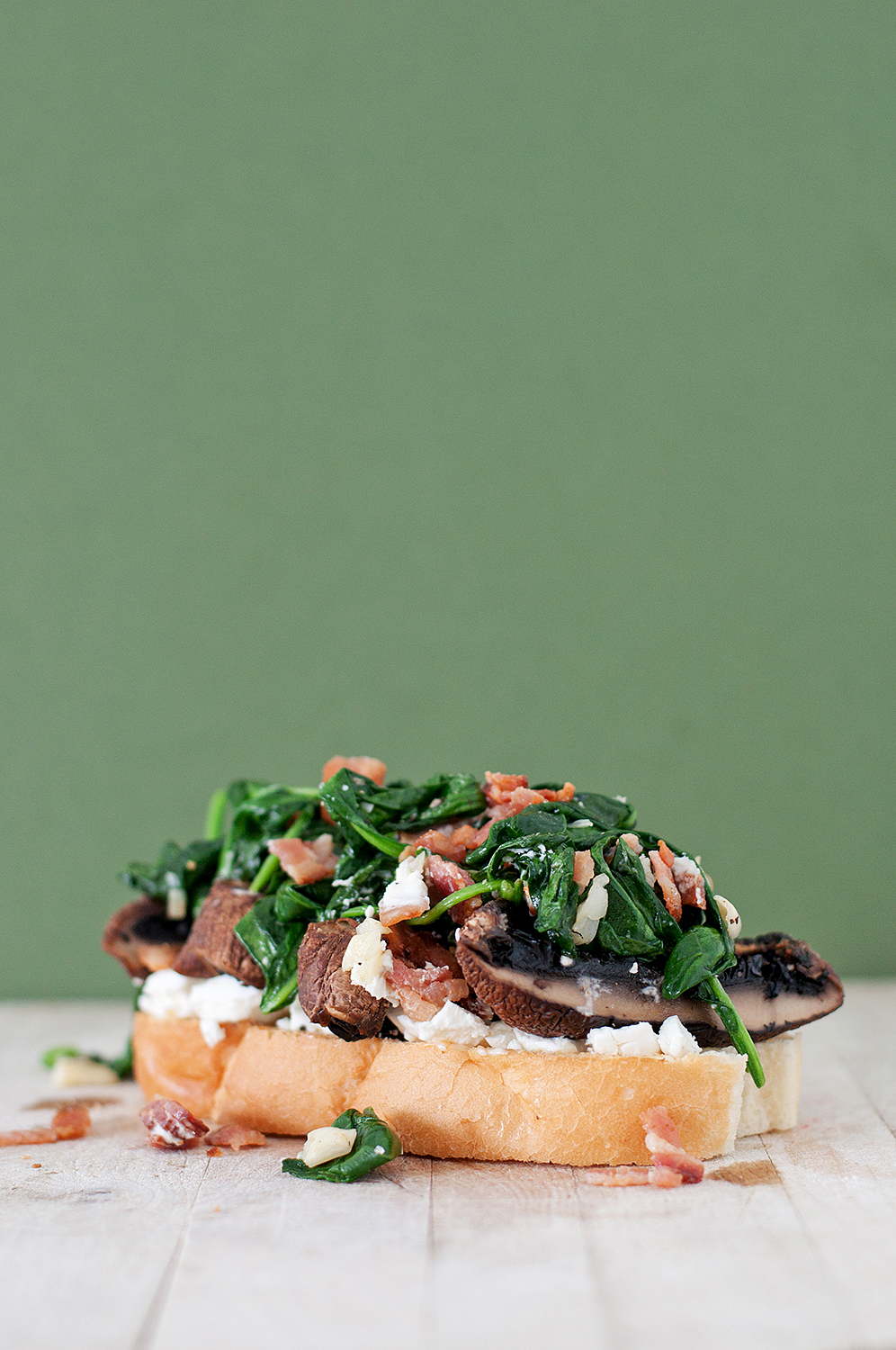 Grilled Portobello Mushroom And Goat Cheese Sandwich With ...