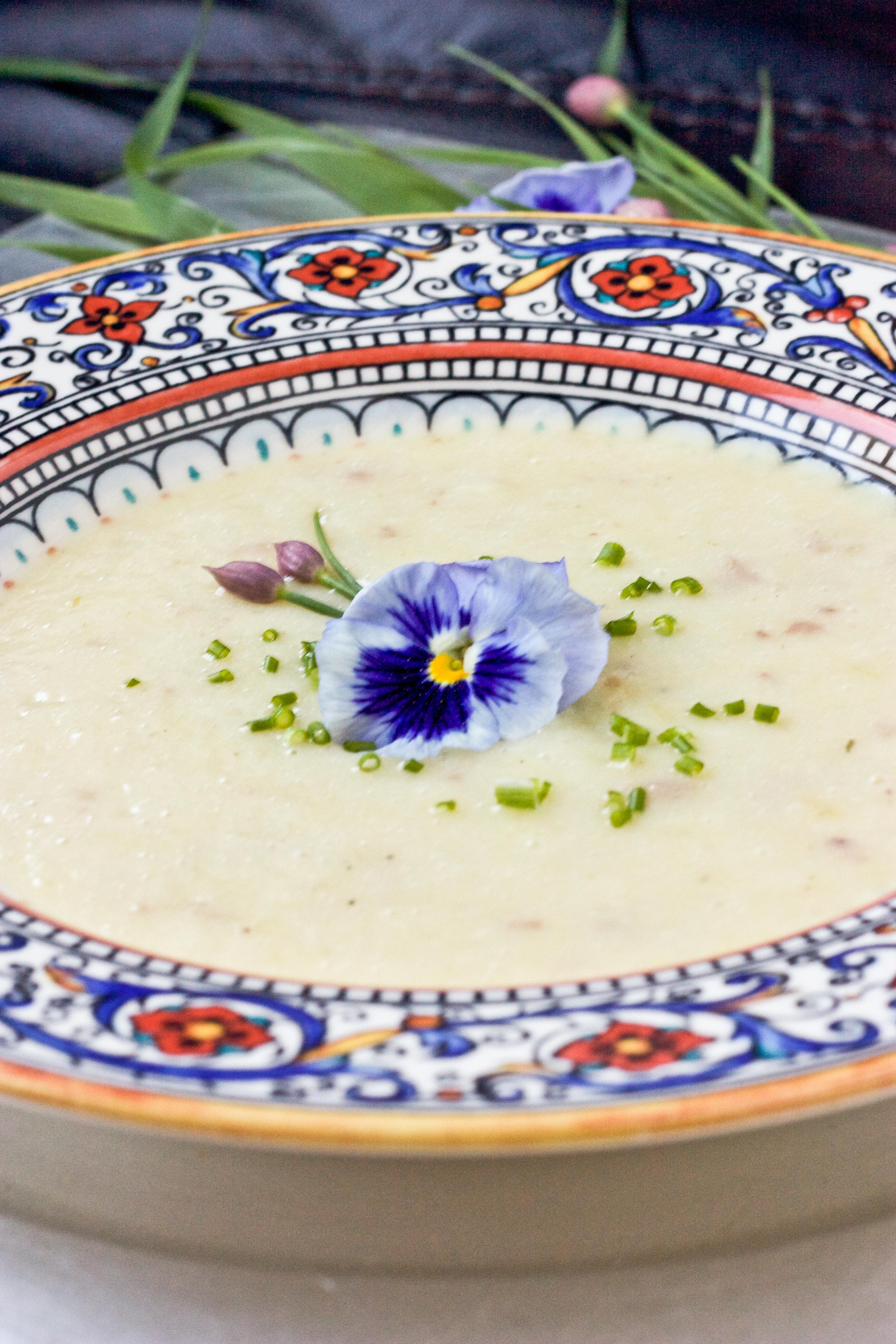 Vichyssoise (Cold Leek & Potato Soup) | JC100 – Week 5 | BS' in the ...