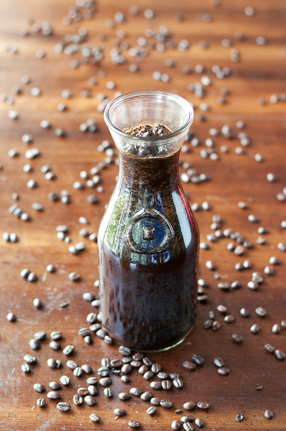 Cold Brewed Coffee Concentrate | BSintheKitchen.com #coffee