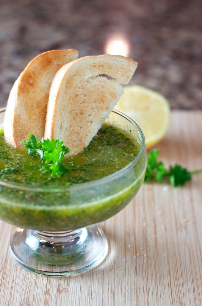 Italian Salsa Verde | bsinthekitchen.com #salsaverde #sauce # ...