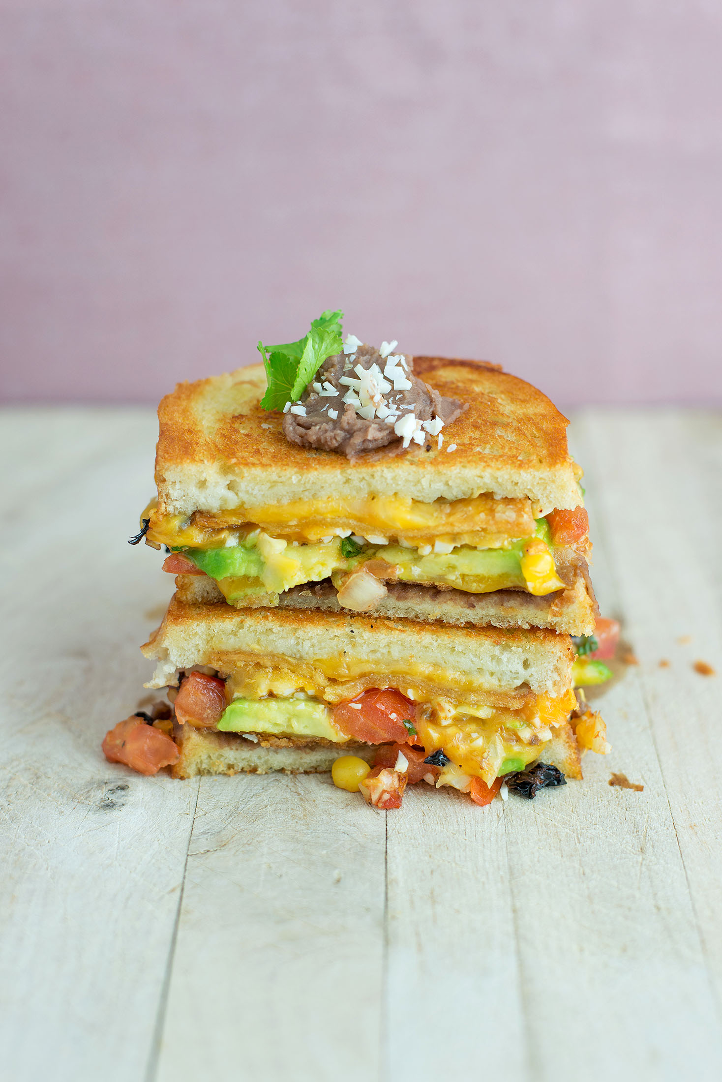 Mexican Grilled Cheese Sandwiches Recipes — Dishmaps