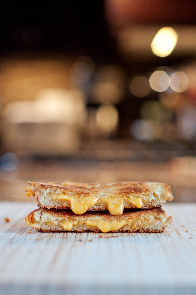 """The Slim"" Grilled Cheese 
