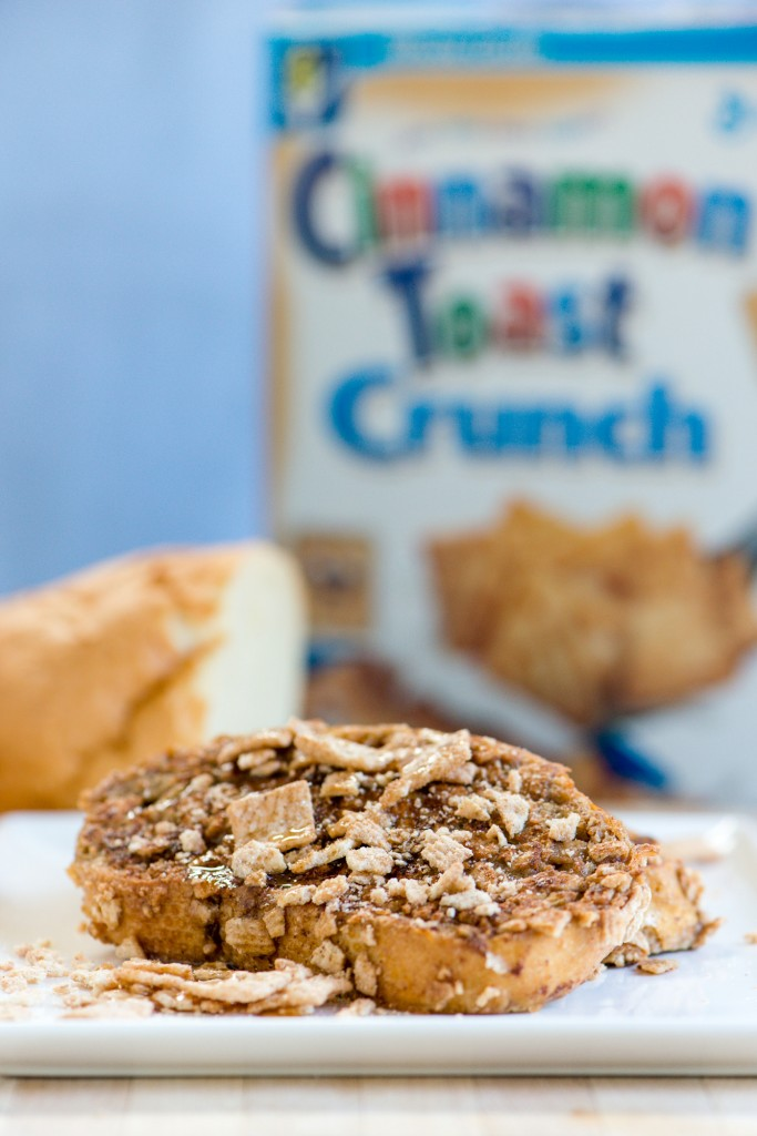 Cinnamon Toast Crunch French Toast | bsinthekitchen.com #breakfast #cereal #bsinthekitchen