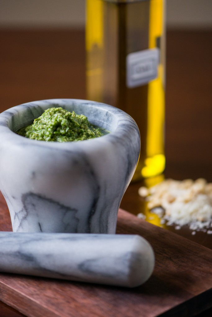 Pesto + VIDEO | bsinthekitchen.com #pesto #basil #bsinthekitchen