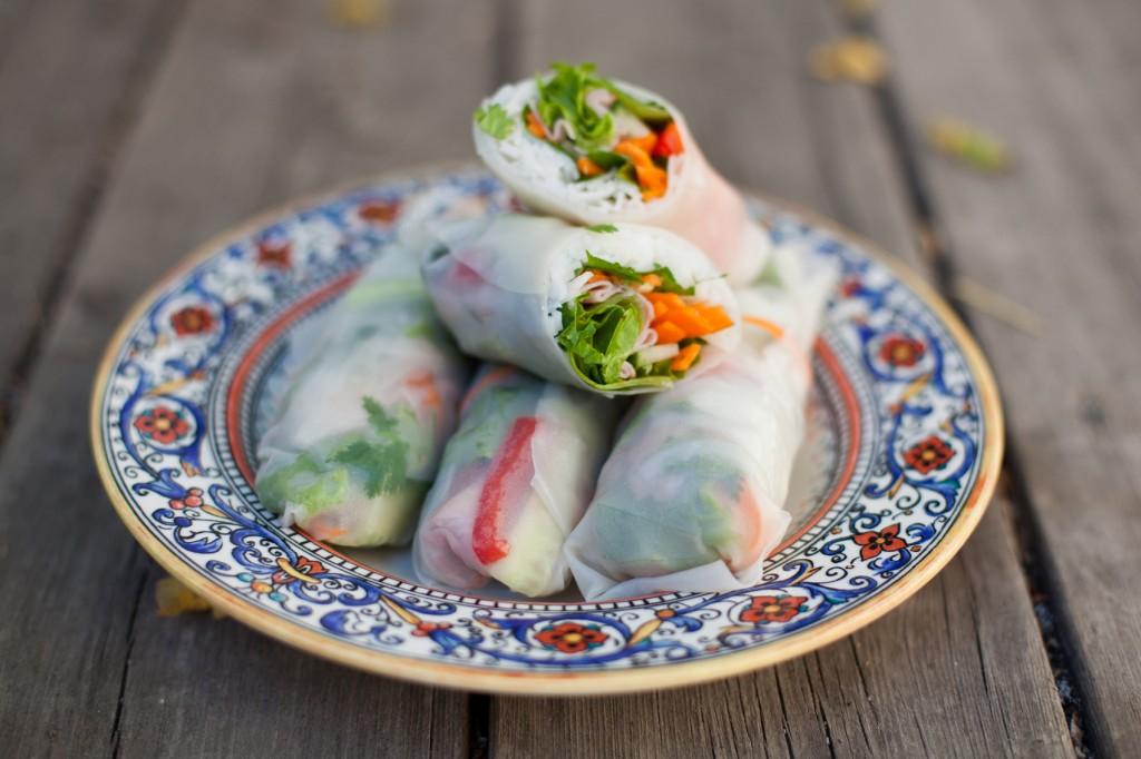 Budget and Student Friendly Vietnamese Cold Rolls