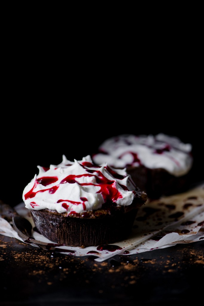 Mississippi Blood Pies | bsinthekitchen.com #halloween #dessert #bsinthekitchen