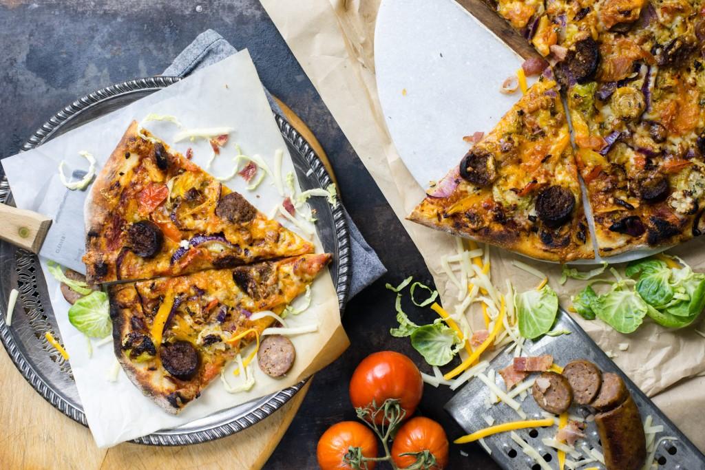Rustic Italian Pizza   bsinthekitchen.com #pizza #italian #bsinthekitchen